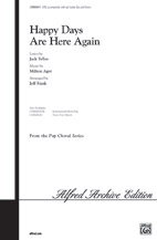 Happy Days Are Here Again : SATB : Jeff Funk : Sheet Music : 00-CHM00041 : 654979014607