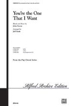 You're the One That I Want : SAB : Jeff Funk : Warren Casey : Grease : Sheet Music : 00-CHM01050 : 654979990123