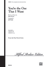 You're the One That I Want : 2-Part : Jeff Funk : Warren Casey : Grease : Sheet Music : 00-CHM01051 : 654979990130
