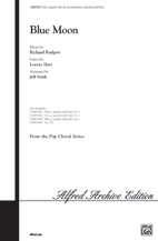 Blue Moon : SATB : Jeff Funk : Richard Rodgers : 00-CHM01081 : 654979993759