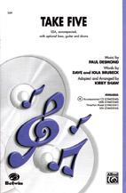 Kirby Shaw : Take Five : Showtrax CD : Dave Brubeck : 654979062721  : 00-CDM03040