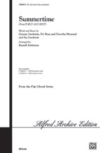Summertime : SAB divisi : Russell L. Robinson : George Gershwin : Porgy and Bess : Sheet Music : 00-CHM04013 : 654979071815