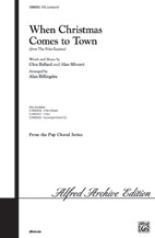 Alan Billingsley : When Christmas Comes to Town : Showtrax CD : 6549790982630 : 00-CDM05055