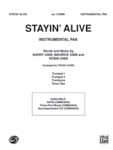 Stayin' Alive (A Medley of Hit Songs Recorded by the Bee Gees) by Barry Gibb, Maurice Gibb & Robin Gibb | digital sheet music | Gustaf