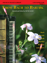 The Young Pianist's Library: From Bach to Bartok, Book 1A