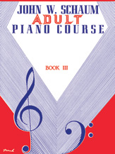Adult Piano Course, Book 3