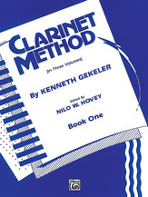 Belwin Clarinet Method, Book I