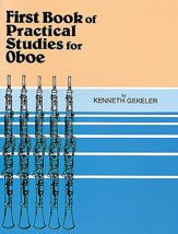 Practical Studies for Oboe, Book I