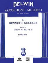 Belwin Saxophone Method, Book I