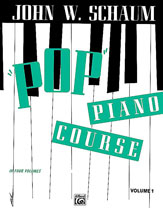 Pop Piano Course, Book 1