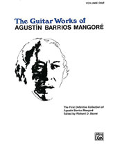 Guitar Works of Agustin Barrios Mangore, Vol. I