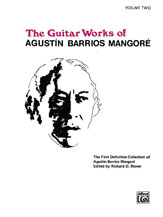 Guitar Works of Agustin Barrios Mangore, Vol. II