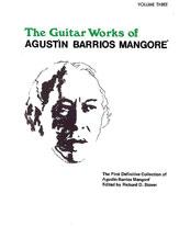 Guitar Works of Agustin Barrios Mangore, Vol. III