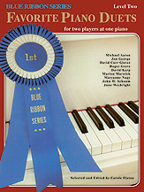 The Blue Ribbon Series: Favorite Piano Duets, Level 2, Volume 1