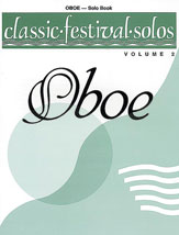 Classic Festival Solos (Oboe), Volume 2 Solo Book