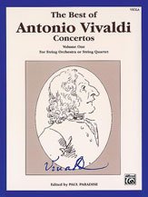The Best of Antonio Vivaldi Concertos, Volume One