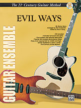 Belwin's 21st Century Guitar Ensemble Series: Evil Ways