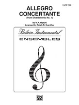 Allegro Concertante (from <i>Divertimo No. 1</i>)