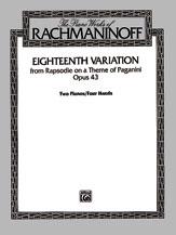 Eighteenth Variation