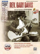 Stefan Grossman's Early Masters of American Blues Guitar: Rev. Gary Davis