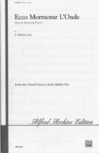 Hear the Murmuring Waters (Ecco mormorar l'onde)