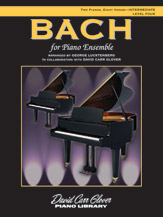Bach for Piano Ensemble, Level 4
