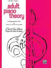 Adult Piano Theory, Level 2