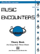 Music Encounters Student Theory Workbook, Level 1