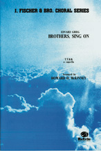 Brothers, Sing On : TTBB : Howard D. McKinney : Edvard Grieg : Sheet Music : 00-FEC06927 : 029156169577