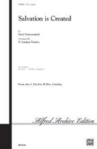 Salvation Is Created by Pavel Tchesnokov | digital sheet music | Gustaf