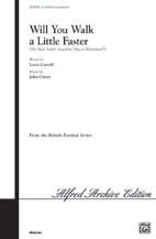 Will You Walk a Little Faster (The Mock Turtle's Song from Alice in Wonderland) by Charles Lutwidge Dodgson | digital sheet music | Gustaf