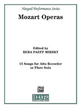 Picture of 15 Songs from the Operas of Mozart