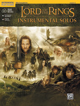 The Lord of the Rings Instrumental Solos (Book & C