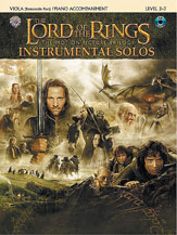 <I>The Lord of the Rings</I> Instrumental Solos for Strings