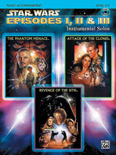<I>Star Wars</I> : Episodes I, II & III Instrumental Solos