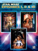 <I>Star Wars</I> : Episodes I, II & III Instrumental Solos for Strings