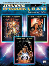 Star Wars : Episodes I, II & III Instrumental Solos for Strings