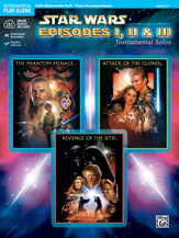 <I>Star Wars</I> : Episodes I, II & III Instrumental Solos for Strings