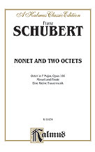 Minuet and Finale for Winds; Eine Kleine Trauermusik for Winds; Octet, Opus 166 for Winds and Strings