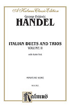 Italian Duets and Trios, Volume II