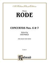 Concertos Nos. 6 and 7