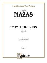 Twelve Little Duets, Opus 38