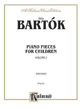 Piano Pieces for Children, Volume I