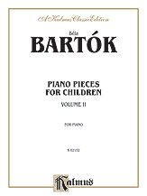 Piano Pieces for Children, Volume II