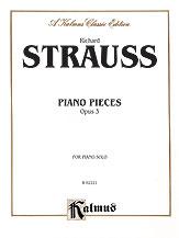 Piano Pieces, Opus 3