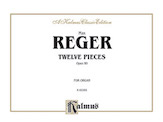 Twelve Pieces for Organ, Opus 80
