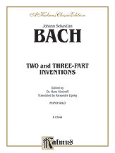 Two- and Three-Part Inventions