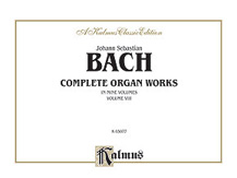 Bach: Complete Organ Works, Volume VIII
