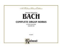 Complete Organ Works, Volume VIII