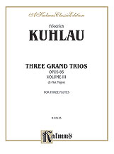Three Grand Trios, Opus 86: Volume III (A-flat Major)